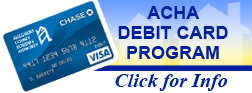 ACHA Debit Card Program